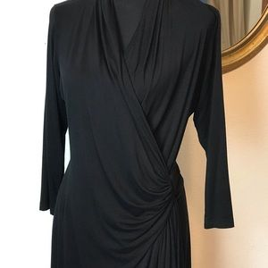Black Knit Dress Size Large